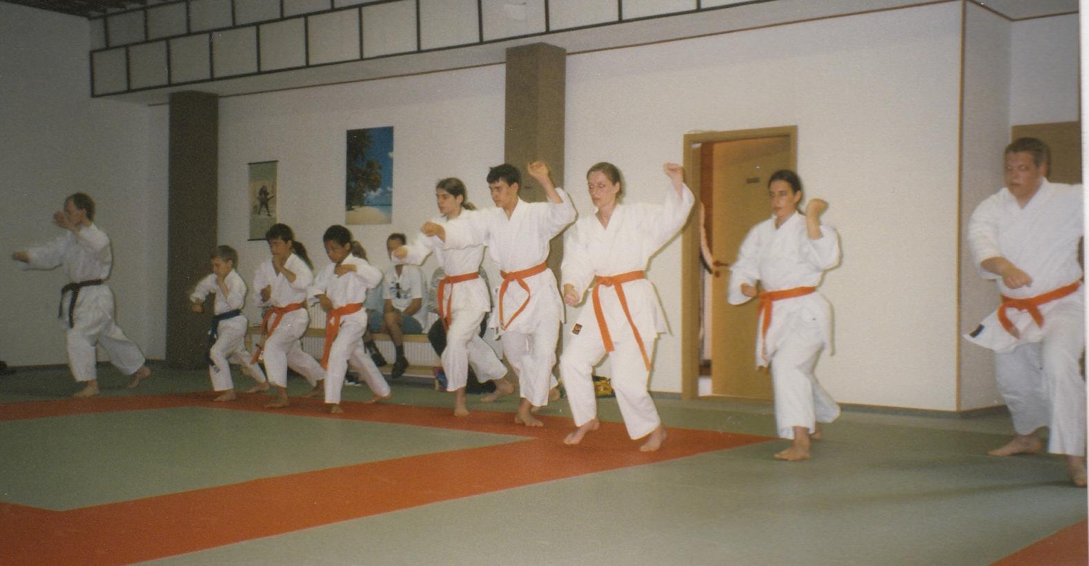 1997 Tag der offenen Tür in der Budo-Schule
