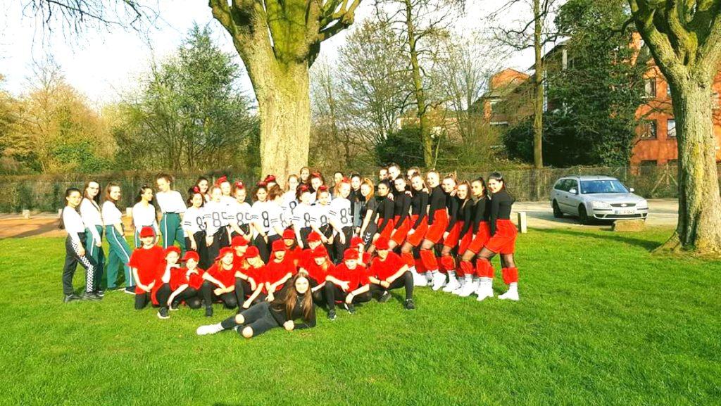 Die Gruppen des SC beim Dance Contest in Leer