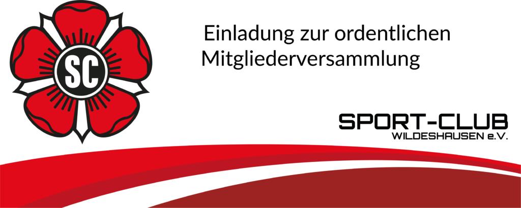 Einladung zur ordentlichen Mitgliederversammlung am 11.02.2020 - 19.30 Uhr Gildestube, Zwischenbrücken 14, 27793 Wildeshausen